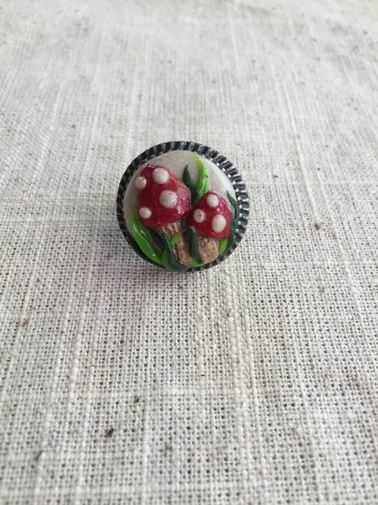 Mushrooms Ring $25
