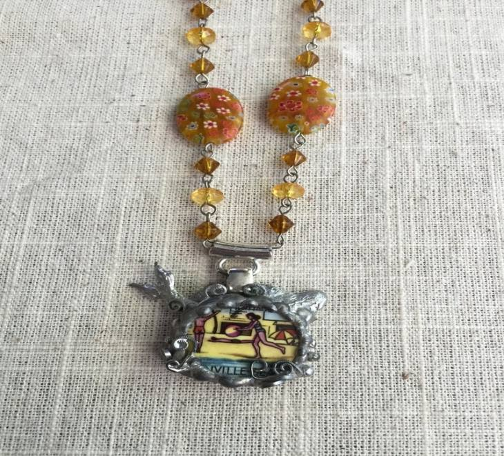 Greenville Beach Necklace $45